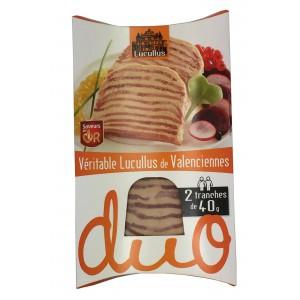Lucullus 2x40g Duo